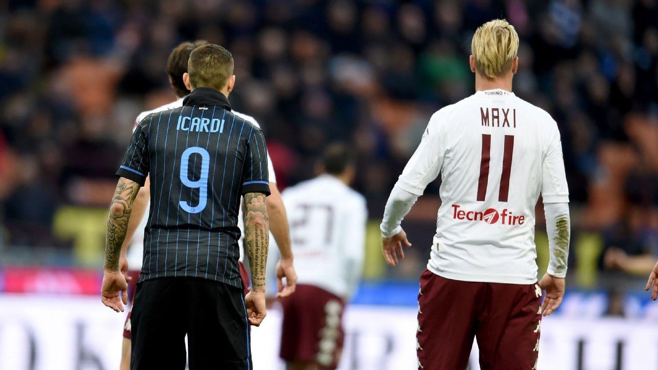 Mauro Icardi dan Maxi Lopez