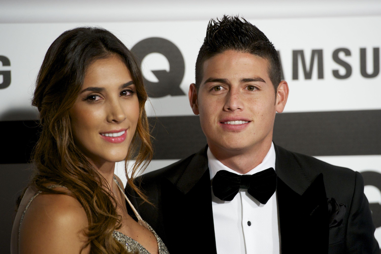 Hubungan James Rodriguez asmara dengan Daniela Ospina
