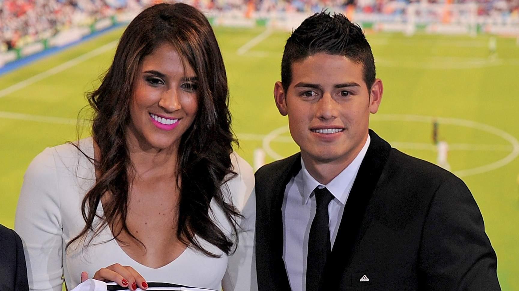 James Rodriguez dan Daniela Ospina