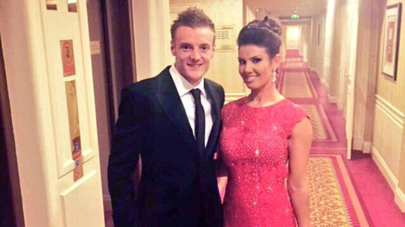 Jamie Vardy dan Becky Nicholson
