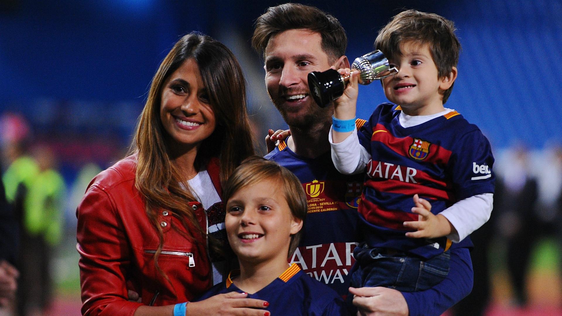Kisah asmara Lionel Messi dengan Antonella Roccuzzo