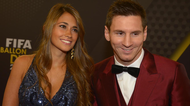 Lionel Messi menikah dengan Antonella Roccuzzo