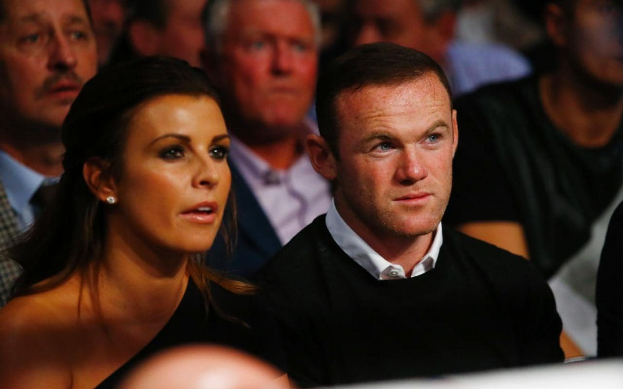 Wayne Rooney dan Coleen